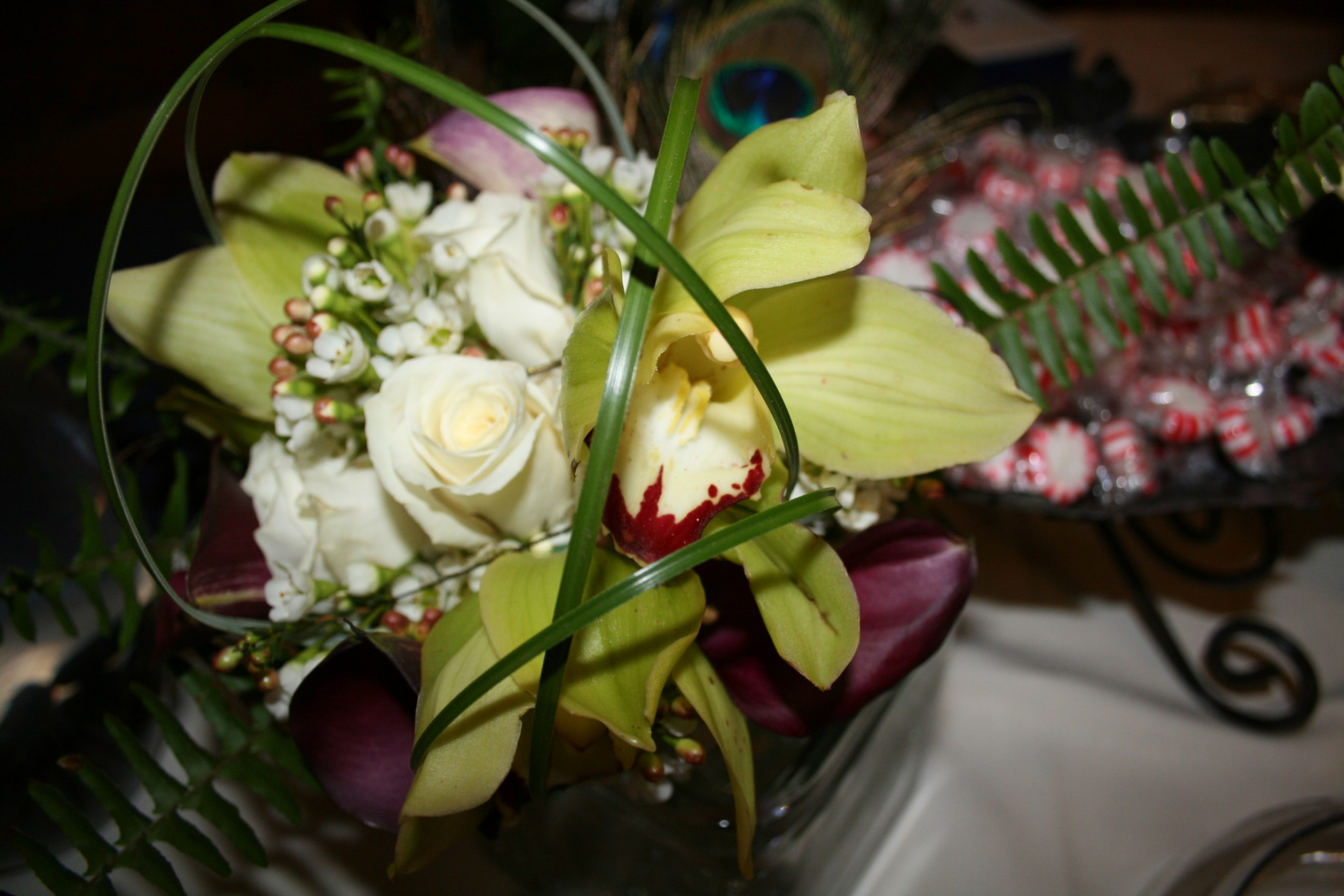 GREEN CYMBIDIUM BOUQUET
