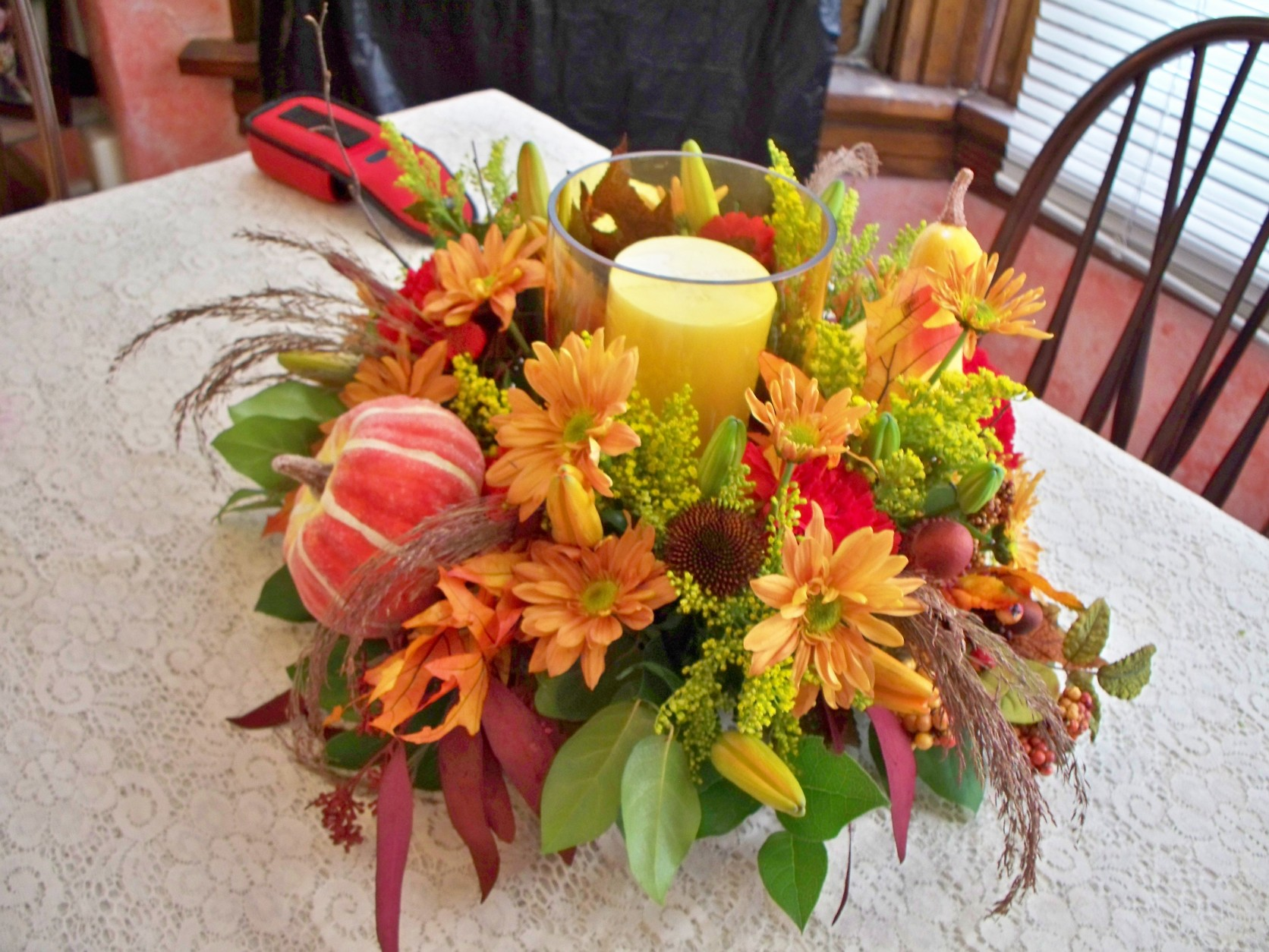 1634 CANDLE FALL ARRANGEMENT