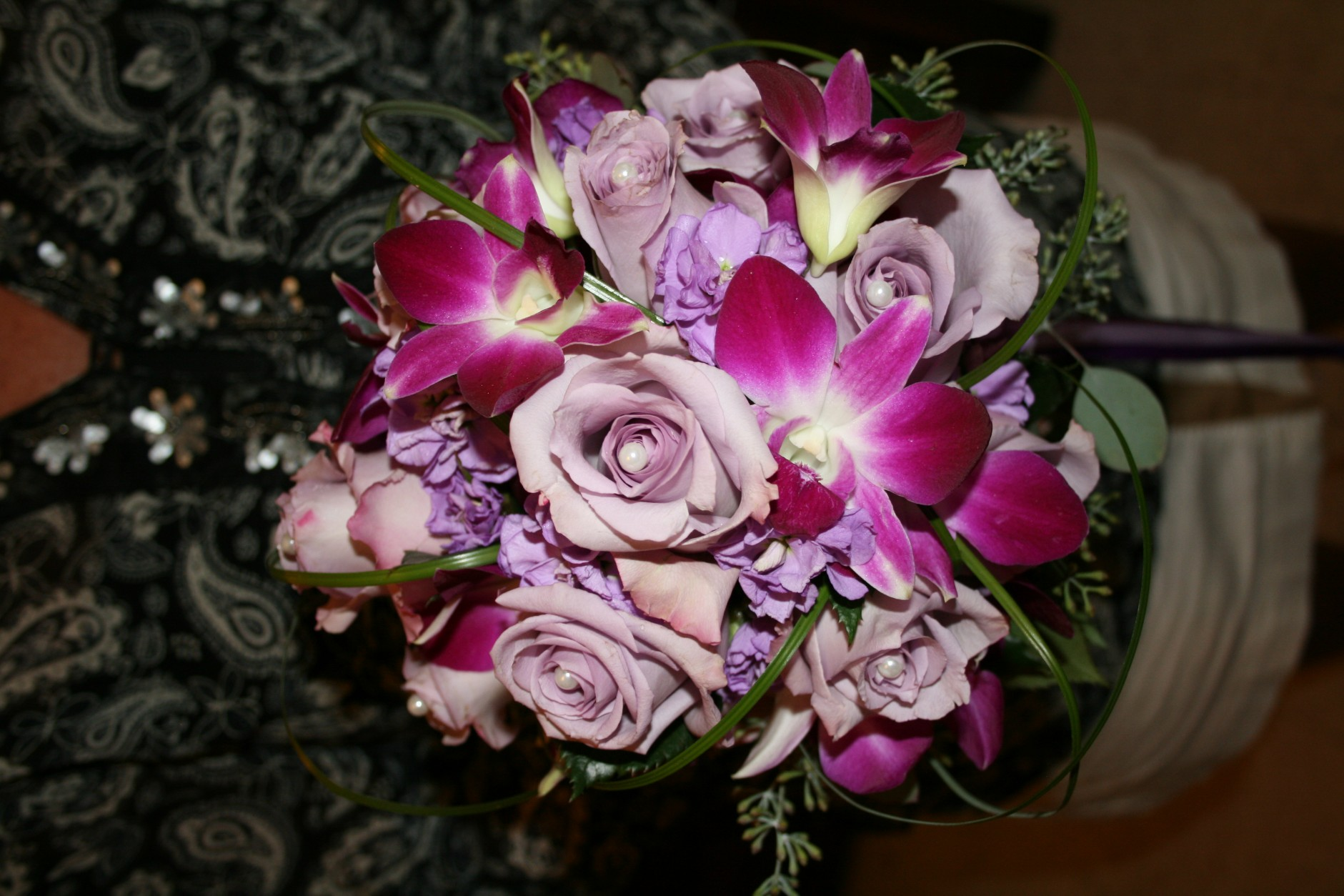 827 BRIDES BOUQUET LAVENDER/