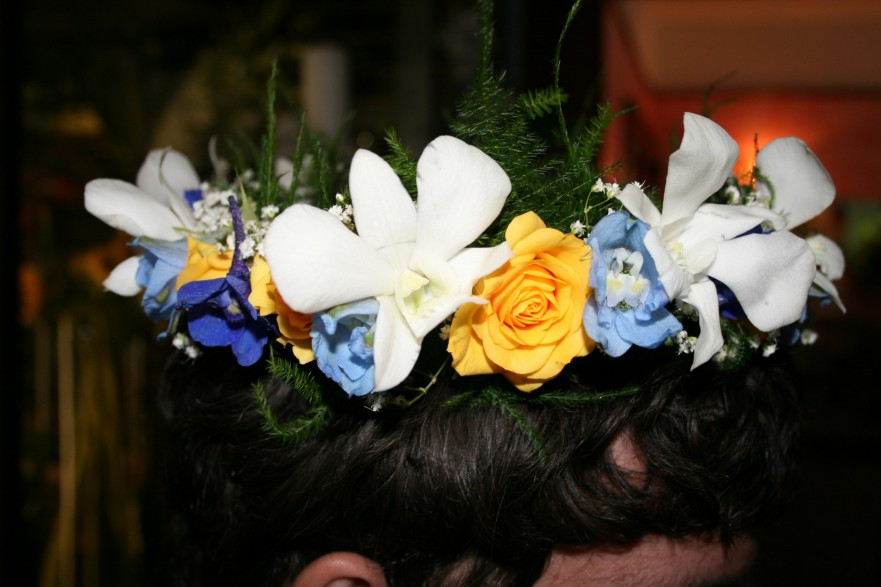 1008 YELLOW/BLUE HEAD PIECE