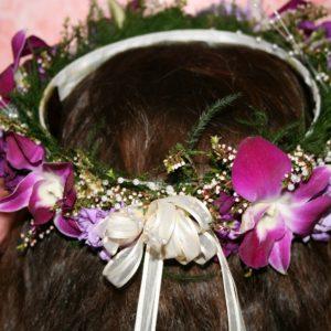 FLOWER GIRL HEAD PIECE