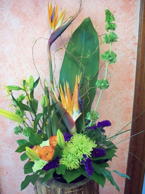 718 BIRD OF PARIDISE ARRANGEMENT