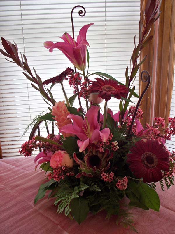 2310 PINK EXOTIC ARRANGEMENT