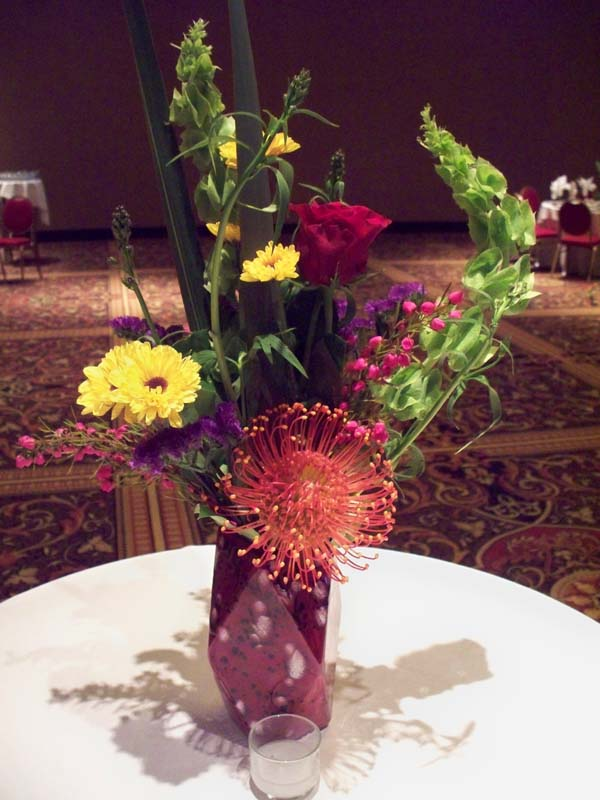 2290 PIN CUSHION PROTEA ARRANGEMENT