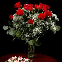 Valentines Rose Arrangement