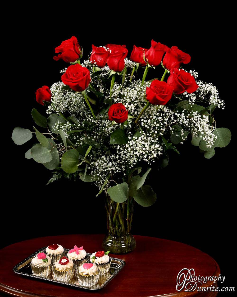 Valentines Rose Arrangement